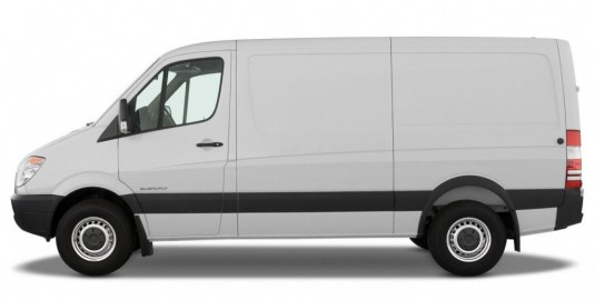 Sprinter Van Brake Job